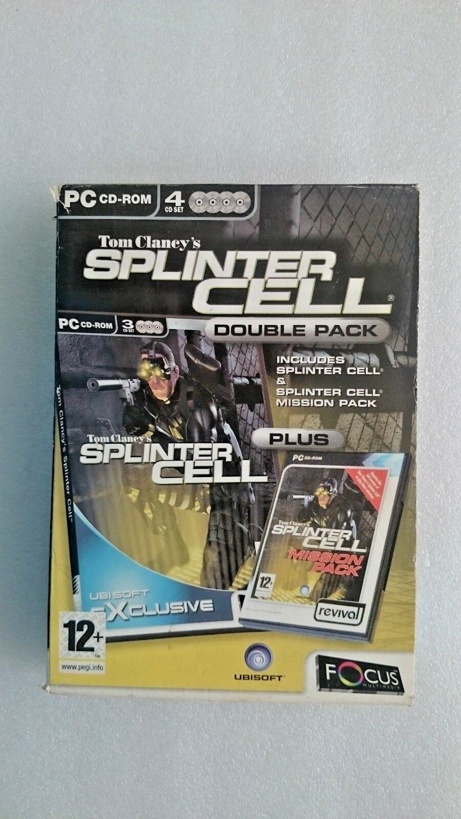 Splinter Cell Plus Splinter Cell Mission (PC Windows 2002)