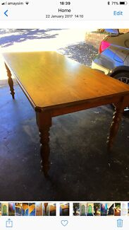 Baltic stained Timber Table