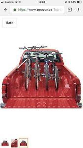 Truck bed bike rack bike carrier for 4 bikes