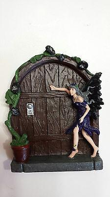 Earth Fairy Halloween (Dark Fairy door, mouse door, Gnome door, doorway to middle earth,)