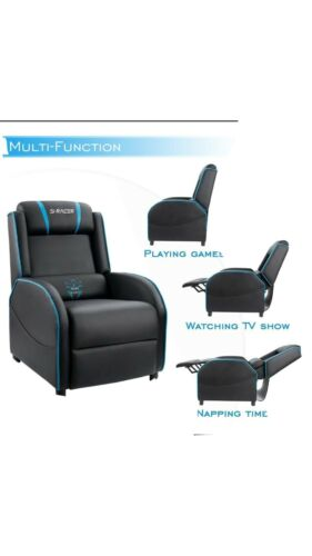 S Racer Gaming Chair Recliner Homall Gaming Leather Chair
