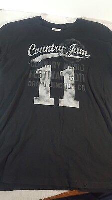 2011 COUNTRY JAM MUSIC FESTIVAL GRAND JUNCTION, CO T-Shirt Tee L