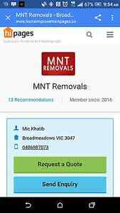 MNT Removal Roxburgh Park Hume Area Preview