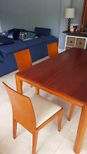 Timber 6 seat dining table Ashmore Gold Coast City Preview