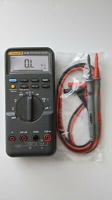 Fluke 87iii True Rms Digital Handheld Multimeter 87-3 Dmm New Test Lead Probes