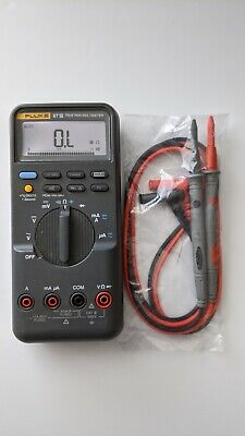 Fluke 87iii True Rms Digital Handheld Multimeter 87-3 Dmm New Test Lead Probes