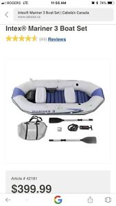 Brand New Never Opened Inflatable Boat - Reduced Price