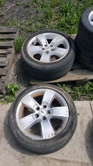 """Ford falcon xr6 xr8 bf 17"""" wheels"""