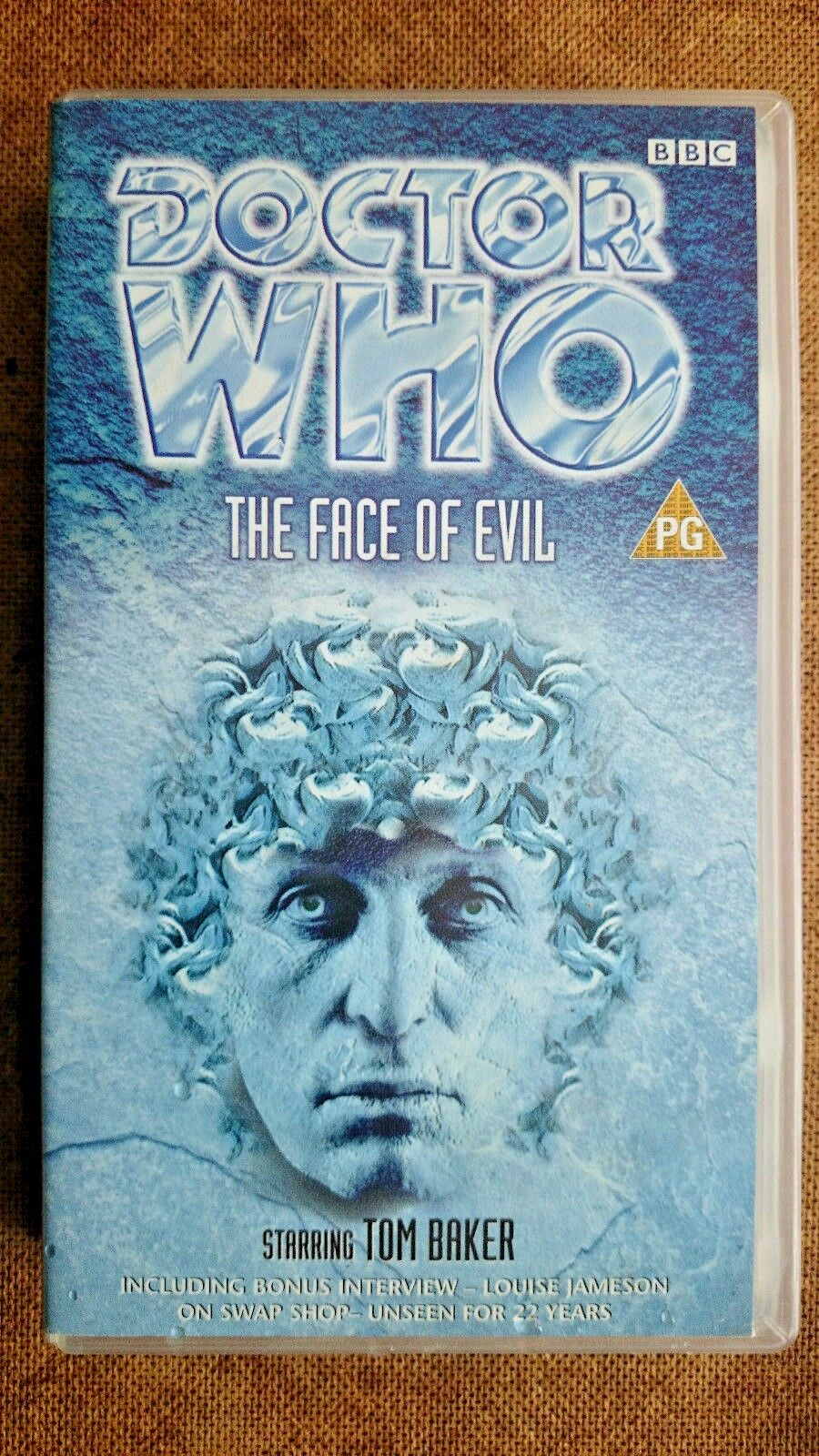 Doctor Who - The Face Of Evil (VHS, 1999) - Tom Baker