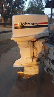 115HP V$ Johnson Outboard motor