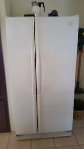 Whirlpool double door fridge freezer