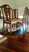 Classic 8 Seater Dining Table and Chairs Kallangur Pine Rivers Area Preview