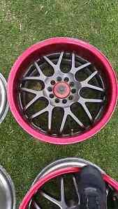 """Genuine set Sparcos 16"""" 5x100 jdm wheels rims Castle Hill The Hills District Preview"""