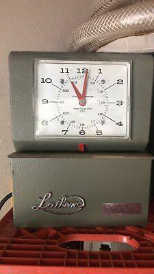 Vintage Lathem Time Clock Model 4000 Series