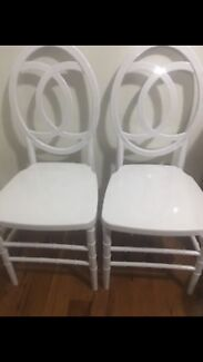 300 NEW WHITE CHANEL BANQUET, WEDDING, RESTUARANT CHAIRS