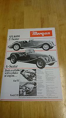 1982 Morgan Rangr Brochure Leaflet