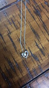 People's White Gold Necklace