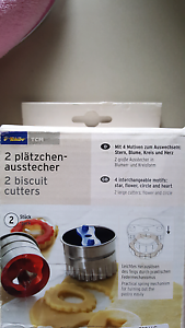 2 biscuit cutters- new. German brand Camden Camden Area Preview