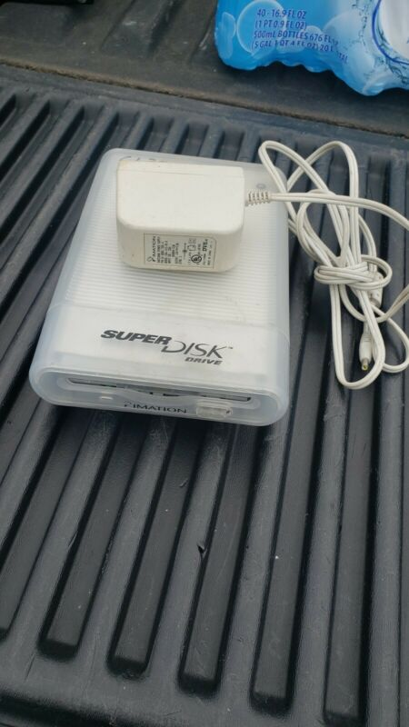 Imation SD-USB-M3 SuperDisk 120MB External Drive Super Disk for Mac