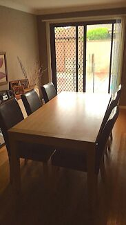 Dining Suite And 2 Side Tables (Deliver possible)