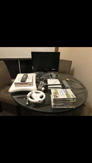 Wii and Tv bundle