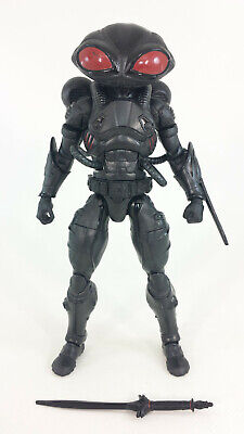 DC COMICS MULTIVERSE MATTEL 2017 AQUAMAN MOVIE BLACK MANTA 6 INCH FIGURE LOOSE