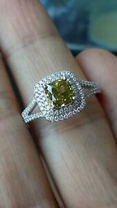 1.91 ct Unique Diamond Ring - Valued $40K *Brand New*