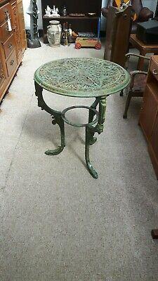 Victorian Wrought Iron Garden Table