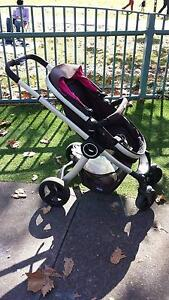 Used PRAM & LIE-FLAT BASSINET URBAN CHICCO Edgecliff Eastern Suburbs Preview