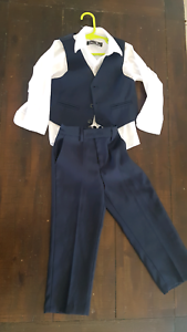 Boys Navy 3-piece Wedding/formal outfit. Navy. Pimpama Gold Coast North Preview