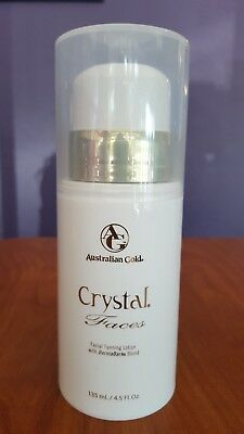 Australian Gold Crystal Faces DermaDark Blend Facial Tanning Bed Lotion 4.5oz