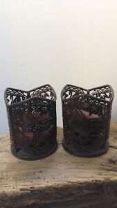 Candle holders and Vases