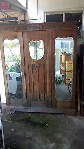 Vintage triple door closet Croydon Burwood Area Preview