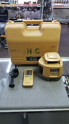 Topcon RL-H3C Self-levelling rotating laser level with LS-70C Receiver