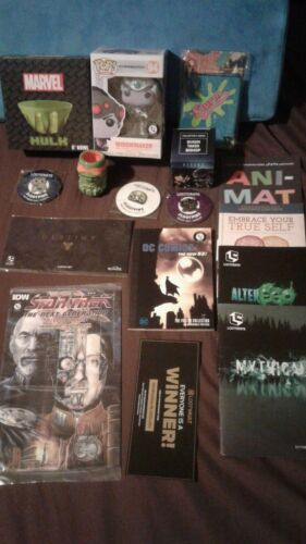Huge 13 piece Lootcrate Lot Mixed