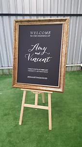 Custom wedding engagement chalkboard sign Sunshine North Brimbank Area Preview