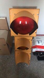 Fully functioning traffic light bought from storage locker