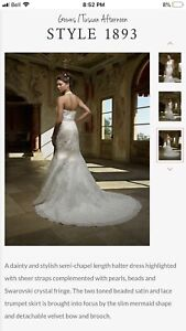 Casa Blanca wedding dress size 6