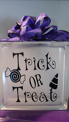 Trick or Treat Halloween Decal sticker for DIY 8