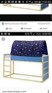 Loft bed with dome