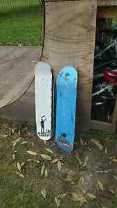 2 skateboard decks with signatures Healesville Yarra Ranges Preview