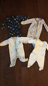 Newborn baby boy items