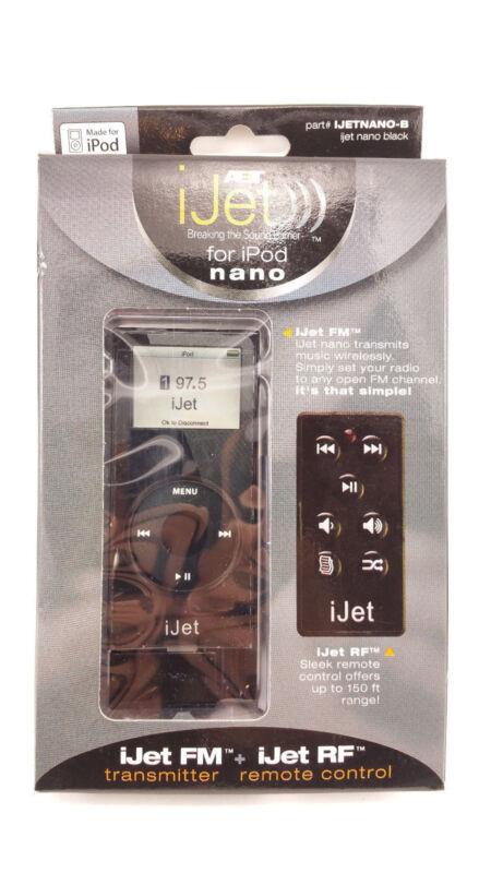 iJet Wireless Remote Control for iPod Nano - Black NEW! SEALED!