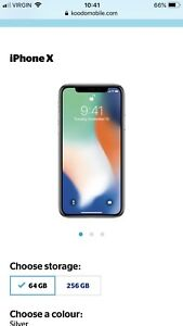 Buying any iPhone X