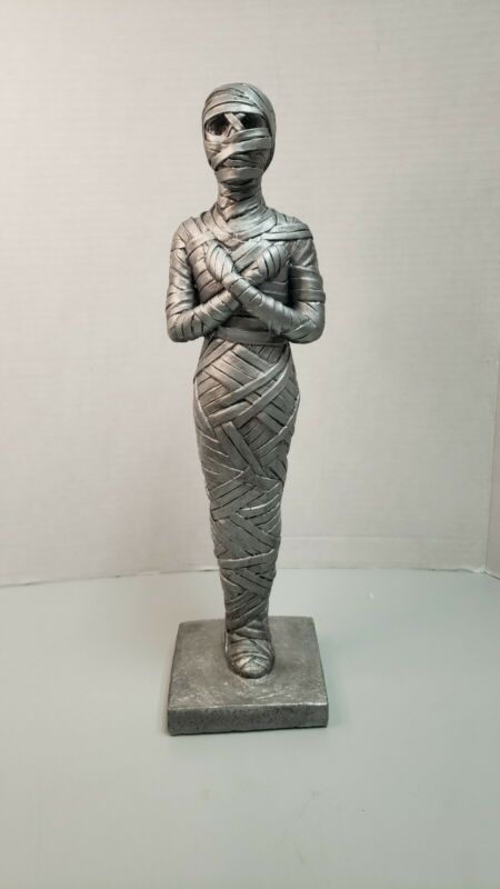 "14 1/2"" Halloween Mummy Statue/decoration/holiday/prop"