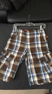 Four pairs of NEW boys Levi`s shorts size 12