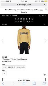 Fendi fabulous sweater