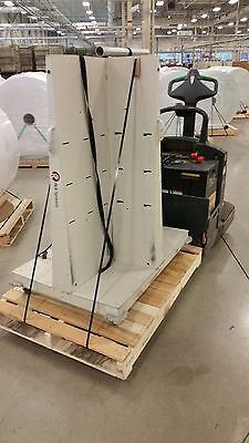 Lasermax Roll Systems Quad Cart Stack Racks