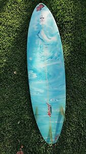 """6'4"""" Surfboard Merewether Newcastle Area Preview"""