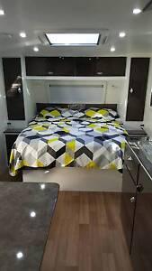 Family Bunk Caravan for hire Everton Hills Brisbane North West Preview